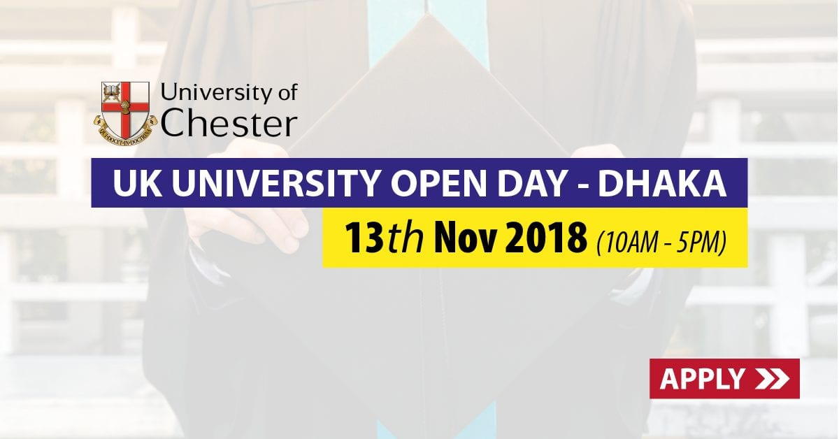 University of Chester Open Day