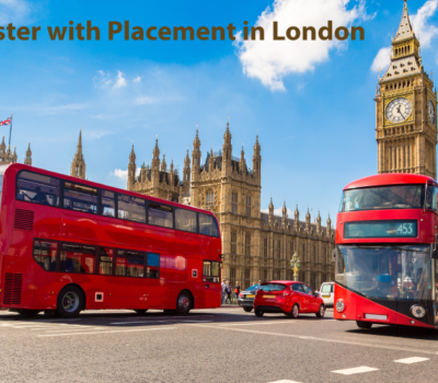 Masters degree with work Placement in the London